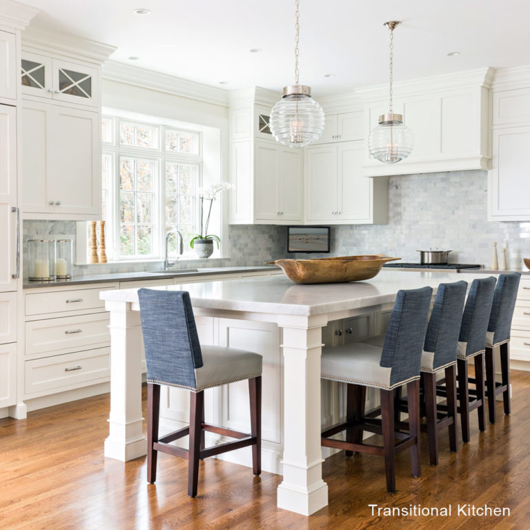 Traditional vs Transitional Kitchen Design - Lewis & Weldon ...