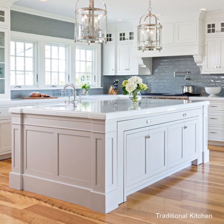 Transitional Kitchens With White Cabinets: Traditional Vs Transitional Kitchens