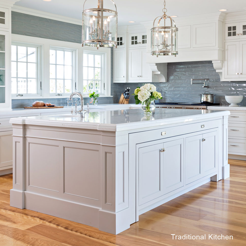 traditional vs transitional kitchens 2339