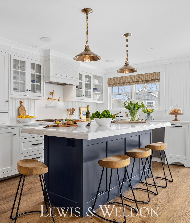 Coastal Style Kitchen Stools